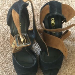 Colin Stewart heels worn once great condition